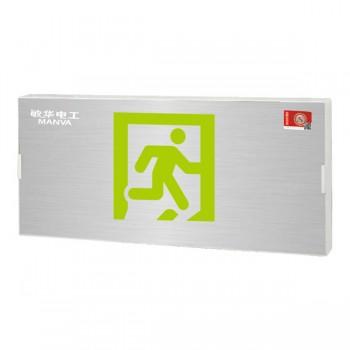 广东敏华电器有限公司_自电集控单面小型铝面板标志灯M-BLZC-1LROE I 0.5WZPV