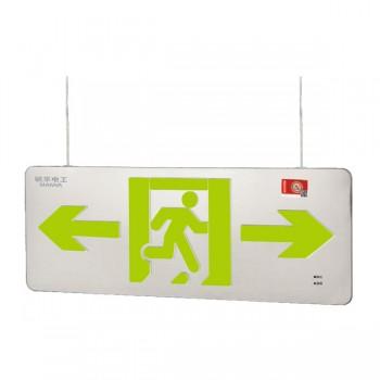 广东敏华电器有限公司_自电集控双面吊线超薄不锈钢标志灯(0.48cm) M-BLZC-2LRE I1WZPA/ M-BLZC-2LROEI1WZPB