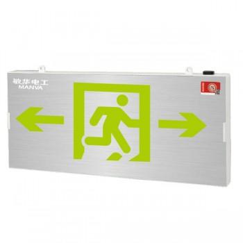 广东敏华电器有限公司_自电集控双面小型铝面板标志灯M-BLZC-2LROE I0.5WZPU